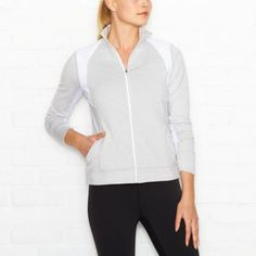 Endurance Jacket in Dove Grey | Running Jacket | lucy activewear