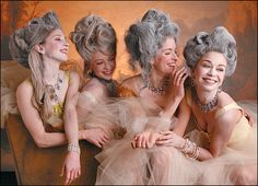 """Ottawa Dance Live and Houston Ballet """"Marie Antoinette"""" ballet Sofia Coppola, Bal A Versailles, Baroque, Rococo Fashion, Mode Costume, Hair Color For Women, Marquise, Masquerade Ball, African American Women"""