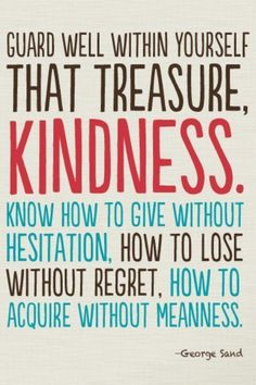 'Know how to give without hesitation' #quotes #generosity