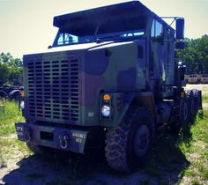 We just love this Oshkosh M1070 HET! So many uses for a big truck like this! Find this and others on GovLiquidation!
