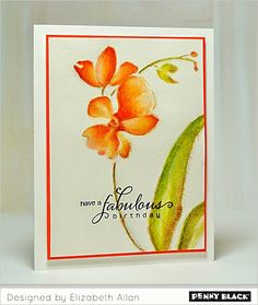 Bring on spring with Penny Black's stamps and Creative Dies...details on our blog!