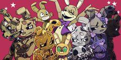 Animatronic Fnaf, Steven Universe, Fnaf Wallpapers, William Afton, Freddy 's, Fnaf Sister Location, Fnaf Characters, Fnaf Drawings, Anime Fnaf