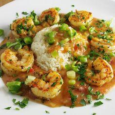 Shrimp Etouffe Recipe for Mardi Gras - A Culinary Journey With Chef Dennis - Pratik Hızlı ve Kolay Yemek Tarifleri Creole Recipes, Cajun Recipes, Fish Recipes, Seafood Recipes, Cooking Recipes, Healthy Recipes, Gourmet Food Recipes, Shrimp Dinner Recipes, Vegetarian Recipes