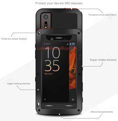 Love Mei Powerful Sony Xperia XZ Protective Case