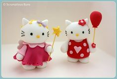 Hello Kitty by Scrumptious Buns Samantha via Flickr
