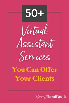 If you are thinking about becoming a Virtual Assistant then you want to read this guide to VA services! In it we break down 50+ services you can offer as a Virtual Assistant - it is the ultimate collection for brand new VA's looking to define their offerings! Work from home | make money online Make Money Online, How To Make Money, How To Become, Content Marketing, Social Media Marketing, Fully Booked, Website Maintenance, Virtual Assistant Services, Community Manager
