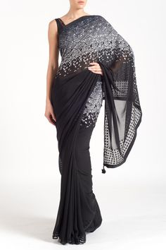 Buy Intricately Embroidered Saree