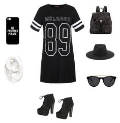 """""""Black and White"""" by smeier21 on Polyvore featuring Ally Fashion, Breckelle's, Proenza Schouler, rag & bone, Smoke & Mirrors, Casetify and Halogen"""