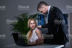 Sexual bullying at work stock photo 63354487 - iStock