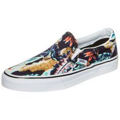 #Vans #Classic #Slip-On #Tropical #Sneaker #Damen #schwarz / #bunt