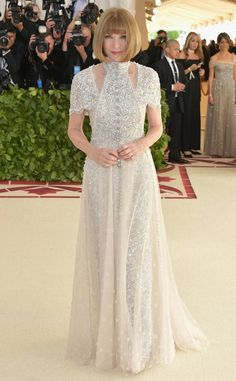Anna Wintour: Met Gala 2018: Best Dressed Stars to the Hit the Red Carpet