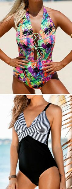 Rapture 2019 Korea Women Skirt One Piece Swimsuit Full Coverage With Pants Plus Size Sexy Slimming Retro Print Bathing Suit Yoga