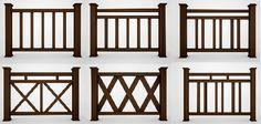 Awesome and Best Porch Railing Ideas - Haus+Wohnen - Garden Deck Porch Railing Designs, Balcony Railing Design, Fence Design, Railing Ideas, Pergola Ideas, Cheap Pergola, Front Porch Deck, Front Porch Railings, Loft Railing
