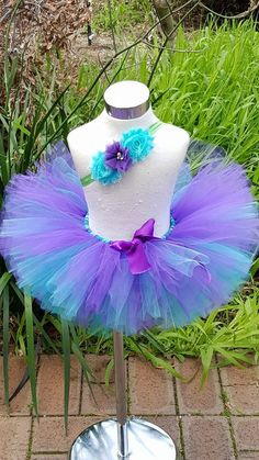 Hey, I found this really awesome Etsy listing at https://www.etsy.com/listing/241400741/aquapurple-dark-teal-tutu-with-matching