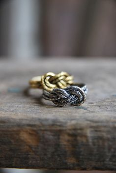 Infinity Knot Ring | Old Hollywood