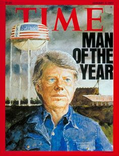 PRESIDENT JIMMY CARTER, MAN OF THE YEAR - Time Magazine; January 3, 1977