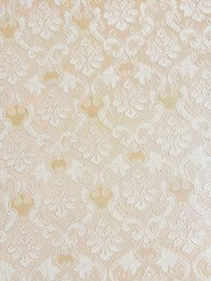 Luxe Relief behang Goud - Creme