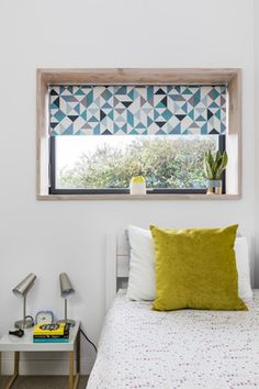 This gorgeous Roller blind is available in a blackout fabric to help you create a stylish and restful haven where you can get away from it all and enjoy a great night's sleep. Blinds For Windows, House Design, Childrens Blinds, Red Accents, Childrens Bedrooms, Blinds, Home, Nursery Blinds, Home Decor