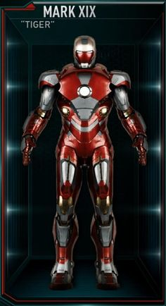 Iron Man Hall of Armors: MARK XIX - Tiger