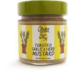 Olivier Napa Valley Toasted Garlic and Herb Mustard
