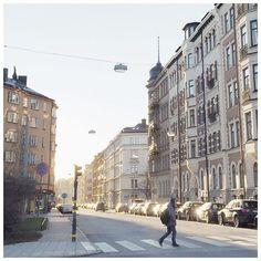 Stockholm vaknar långsamt  #stockholm #thisisstockholm #vasastan #totallystockholm #myhometown #sweden  #expat #expatlife #loveyourlife #dreambig