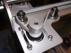 56a) Buildabot -assembling the X-rail belt drive