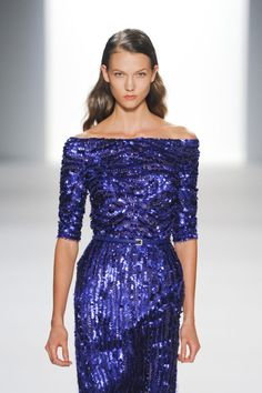 Beautiful sequinned detailing