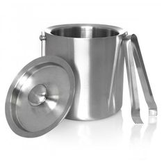 Stainless Steel Ice Bucket with Ice TongIBINWT 1 Each -- Continue to the product at the image link.