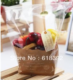 100 Clear Stand ︻ Up Pouch Cookie Plastic ▼ Bakery Gift Package Bag 100 Clear Stand Up Pouch Cookie Plastic Bakery Gift Package Bag Salad Packaging, Plastic Bag Packaging, Cupcake Packaging, Candy Packaging, Food Packaging, Fruit Gifts, Food Gifts, Vegetable Packaging, Cute Bakery