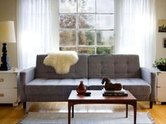The experts at HGTV.com share various living room design styles.