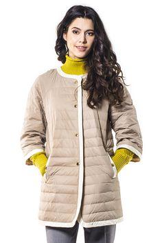 Пальто женское Savage арт. 615011 цвет ecru купить в Минске в интернет-магазине - afashion.by