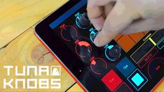 Tuna Knobs, Stick 'em to your tablet and it's a controller. by Samuel Verburg — Kickstarter