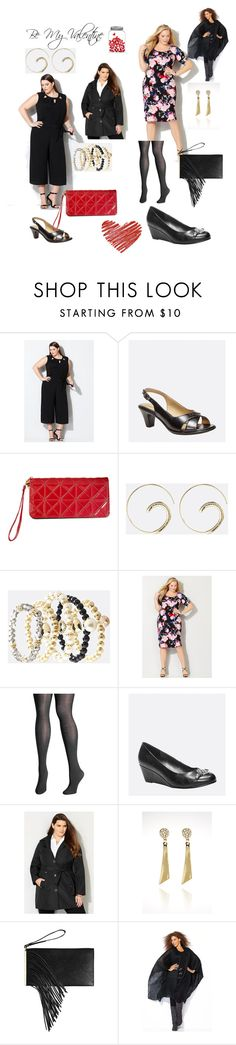 """Be My Valentine"" by avenue365 on Polyvore featuring Avenue, women's clothing, women, female, woman, misses and juniors"
