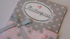 Mutterpasshülle ♥ Mutterpass von ***BabsM*** auf DaWanda.com