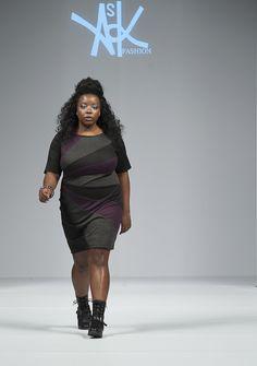 Ask Fashion By Amanda Koker: Season 10, photo 41 of 52 Photographer: Myke Yeager Details: Purple, black and gray diagonally striped dress