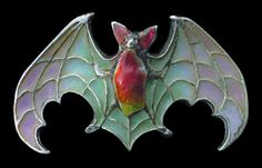 Bats are symbols. Click here to learn what they mean. http://jewelrynerd.tumblr.com/