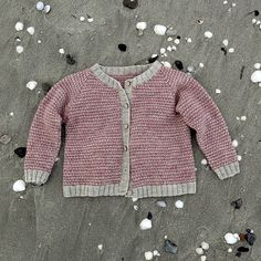 ravelry: knit for your kid. linen stitch cardigan