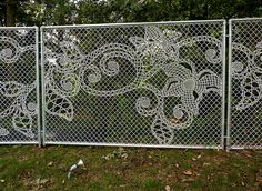 Lace Fence : Dutch Design House Demakersvan