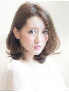 アフロートジャパン(AFLOAT JAPAN)AFLOAT 鈴木司『ハネても可愛い!大人可愛い小顔ミディアム』