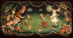 Dream Animals Fairy Dream / Large Print by theblackapple on Etsy, $30.00