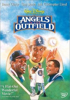 Angels in the Outfield (1994) Poster  When a boy prays for a chance to have a family if the California Angels win the pennant, angels are assigned to make that possible. Danny Glover, Brenda Fricker, Tony Danza