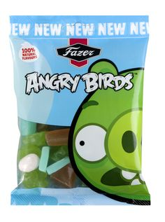 These bags are all about the piggies! Fazer Angry Birds sweets are flying to the stores soon.