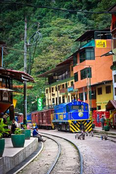 Aguas Calientes.... One of my favorite towns! This world is really awesome. The woman who make our chocolate think you're awesome, too. Please consider ordering some Peruvian Chocolate today! Fast shipping! http://www.amazon.com/gp/product/B00725K254