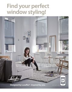 Scan the ad with @Layar to find your perfect window styling.