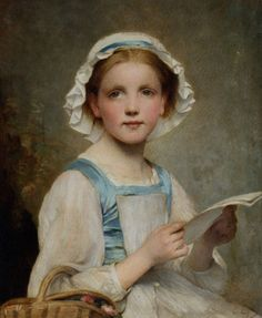 Chaplin Charles The Letter Classical Paintings by Charles Joshua Chaplin (1825 1891)   I.D. 61