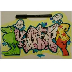 Nice characters by Vaughn Bode!  Check this colourful graffiti @kuspy_krome created with our makers.  Thank you for using #graphmastermarker