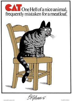 Kliban's Cats Comic Strip, April 05, 2012 on GoComics.com