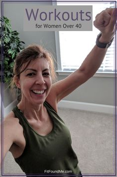 Workouts for women over 40 especially for beginners. When I first began my weight loss journey I didn't know a lot about how to exercise to lose weight. Exercise should include muscle toning and metabolism boosting for long-term better health. Easy Workouts, At Home Workouts, Fitness Workouts, Women's Fitness, Workout Routines, Extreme Workouts, Cardio Workouts, Female Fitness, Workout Ideas