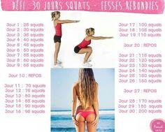 30d squat challenge