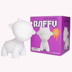 MUNNYWORLD Raffy 7-Inch White Edition | Kidrobot